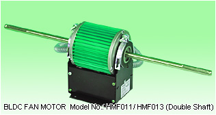 Double Shafts BLDC Motors HMF series