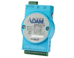 8-ch Analog Input EtherNet/IP Module  ADAM-6117EI